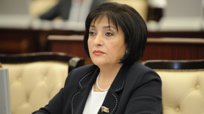 Sahiba Gafarova informs George dick about situation in Nagorno-Karabakh region of Azerbaijan