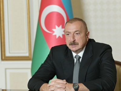 President of Azerbaijan Ilham Aliyev announces liberation of 6 more villages
